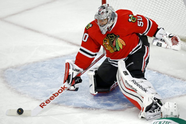Corey Crawford... (Photo: AP)