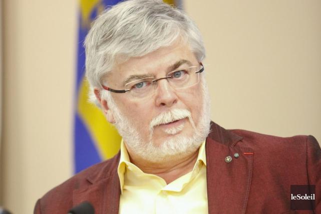 John Porter, président du conseil d'administration de l'Université... (Photothèque Le Soleil, Caroline Grégoire)