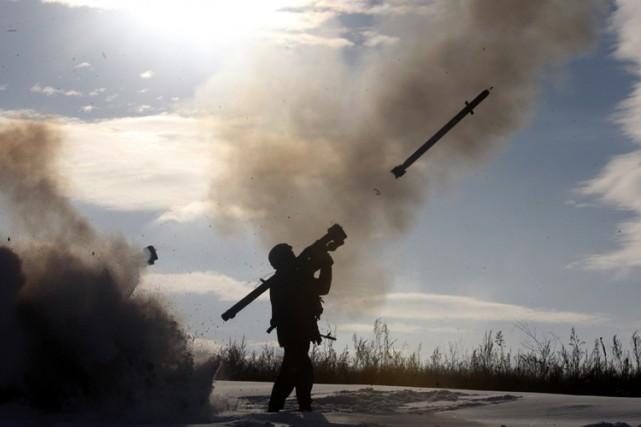 L'aéroport de Donetsk est le théâtre de combats... (Photo: AFP)