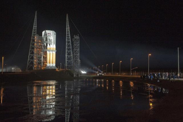 Le lancement de la capsule non habitée de... (PHOTO STEVE NESIUS, REUTERS)