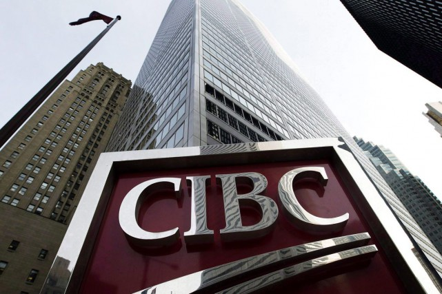 Les résultats financiers du premier trimestre de la Banque CIBC (T.CM)... (Photo archives La Presse Canadienne)