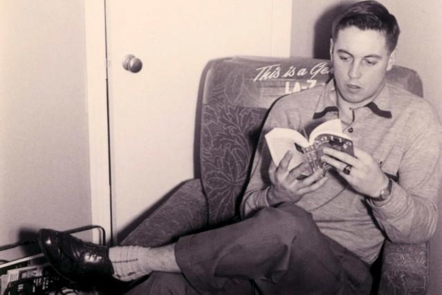 La scène se déroulait au Colisée de Québec, au début des années 50. Un matin,... (Photo Bibliothèque de l'Université Laval)