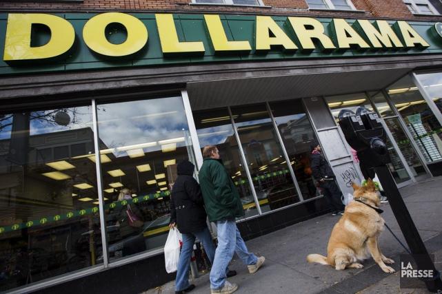 Dollarama a fait état mercredi de hausses de ses ventes, de son bénéfice net et... (PHOTO EDOUARD PLANTE-FRÉCHETTE, ARCHIVES LA PRESSE)