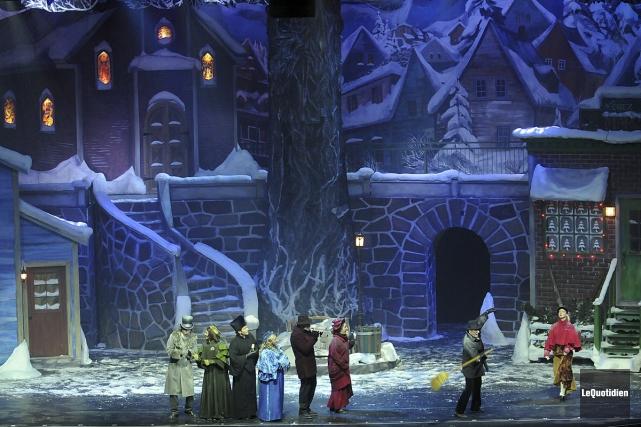 Le spectacle Décembre met en vedette 13 chanteurs,... (Rocket Lavoie, Le Quotidien)