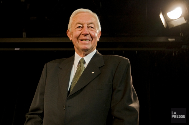 Jean Béliveau en 2008... (Photo Ivanoh Demers, archives La Presse)