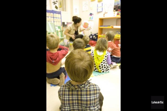 Une panne électrique force la fermeture de l'école primaire... (archives La Voix de l'Est)