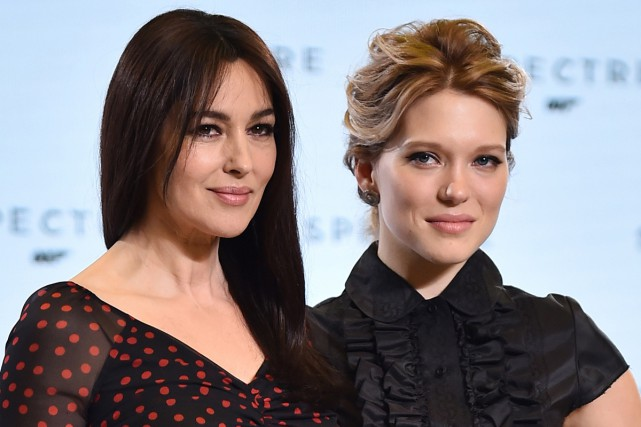 Monica Bellucci et Léa Seydoux... (Photo: AFP)