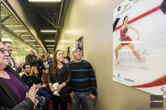 La patineuse artistiqueVanessa Greniera eu le plaisir de... (Imacom, Jocelyn Riendeau)