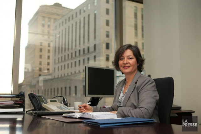 Line de Villers, directrice principale, relations d'affaires, chez... (Photo Martin Chamberland, La Presse)