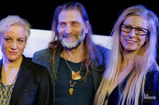 Meg Stuart, Benoît Lachambre et Marie Chouinard.... (Photo: La Presse)