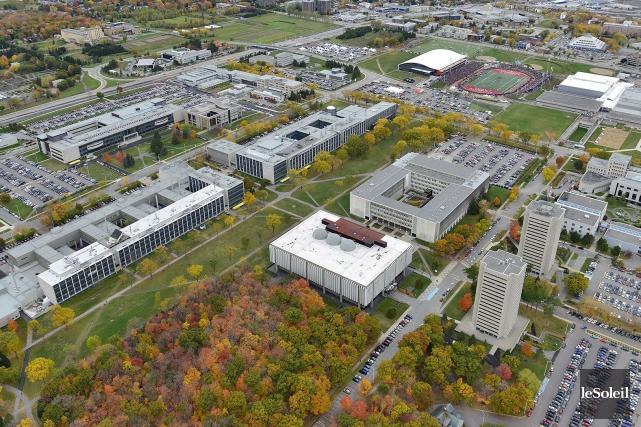L'Université Laval.... (Photothèque Le Soleil)