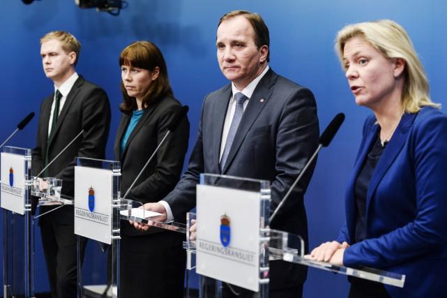«C'est une autre politique que celle pour laquelle... (PHOTO PONTUS LUNDAHL, AFP/TT)