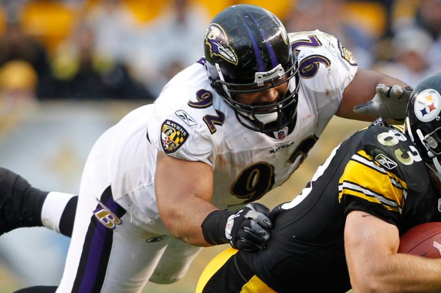 Le plaqueur des Ravens de Baltimore Haloti Ngata.... (Photo Jason Cohn, archives Reuters)