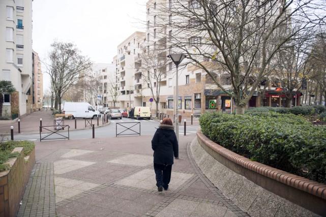 Cette agression est survenue à Créteil, petite ville... (PHOTO MARTIN BUREAU, AFP)