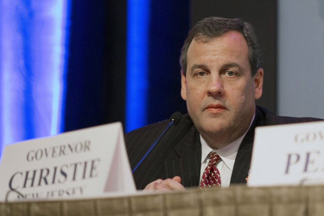 Chris Christie va concentrer son discours sur la... (PHOTO: PC)