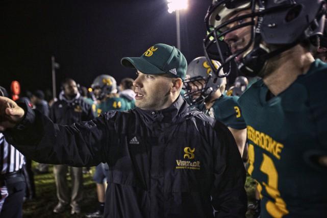 L'entraîneur Martin Montminy a occupé plusieurs fonctions au... (Photo Johany Jutras)
