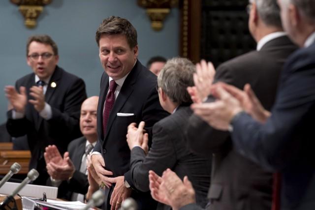 De l'avis du ministre Pierre Moreau, la campagne... (La Presse Canadienne, Jacques Boissinot)