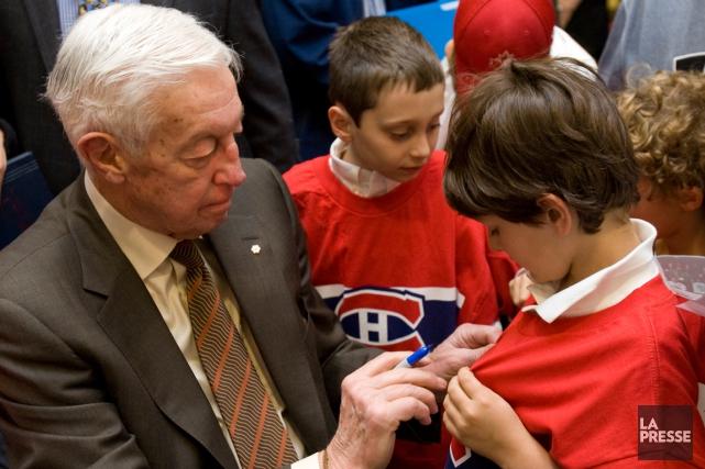 JeanBéliveau a toujours fait preuve d'une grande disponibilité... (Photo David Boily, archives La Presse)
