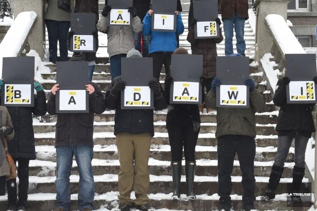 Une manifestation a eu lieu vendredi dernier devant... (Imacom, Maxime Picard)