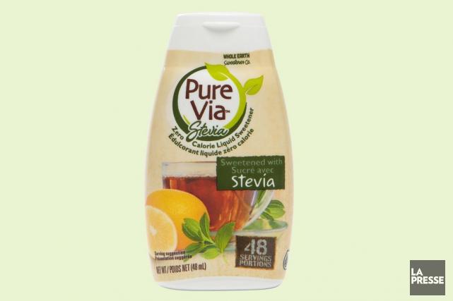 Ce liquide sucré avec de l'extrait de stevia... (PHOTO OLIVIER PONTBRIAND, LA PRESSE)