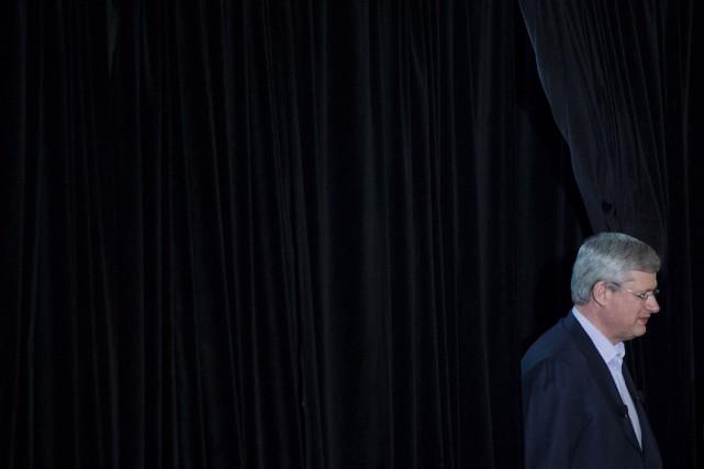 Le premier ministre du Canada Stephen Harper... (Photo Darren Calabrese, La Presse Canadienne)