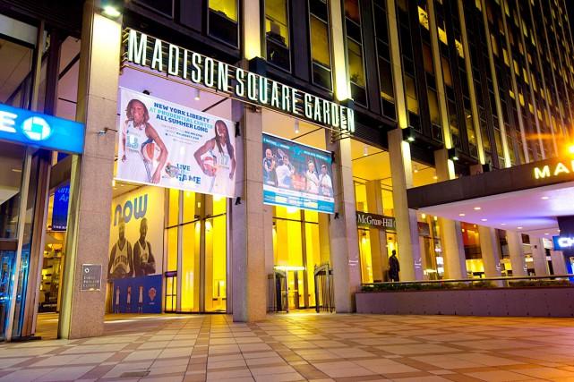 Le Madison Square Garden, domicile des Rangers de... (Photo Shutterstock)