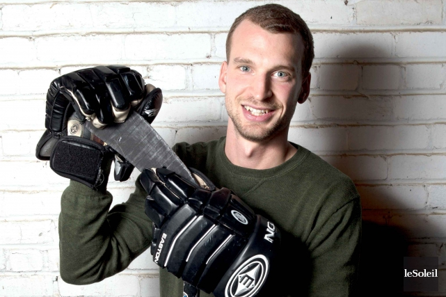Patrice Lemieux 24/7 entrera dans l'intimité du hockeyeur... (Photothèque Le Soleil)