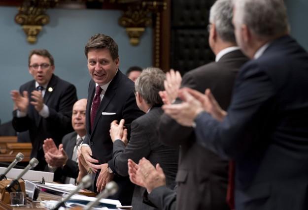 Le ministre desAffaires municipales,PierreMoreau, est parvenu à faire... (Photo PC)