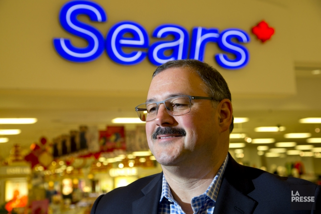 Ronald Boire, nouveau grand patron de Sears Canada... (PHOTO ALAIN ROBERGE, ARCHIVES LA PRESSE)
