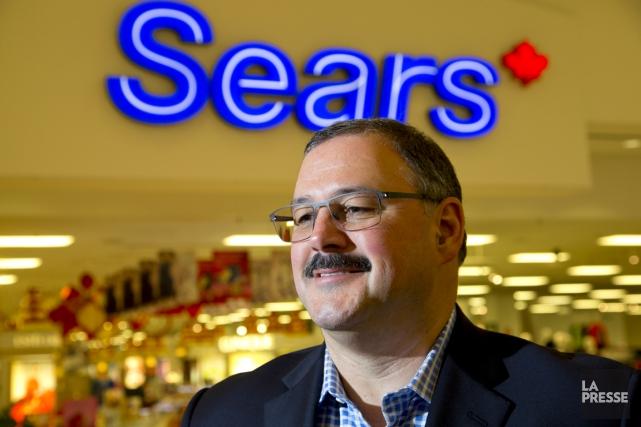 Ronald Boire, nouveau grand patron de Sears Canada,... (PHOTO ALAIN ROBERGE, ARCHIVES LA PRESSE)