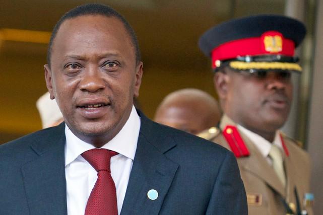 Le président Uhuru Kenyatta, âgé de 53 ans,... (PHOTO ANDREW COWIE, ARCHIVES AFP)