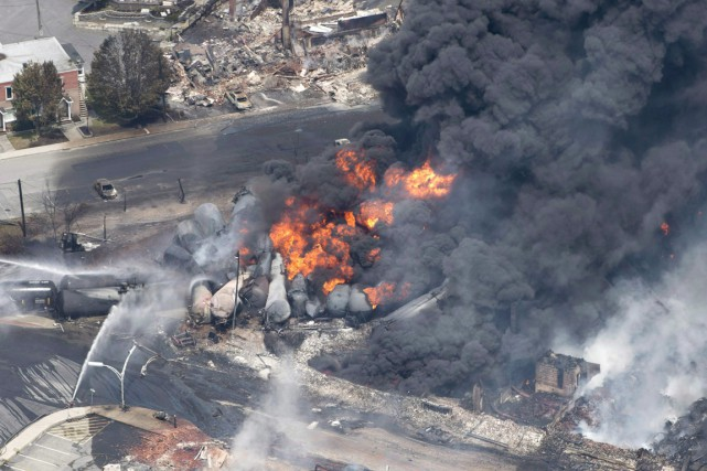 Tragédie de Lac-Mégantic... (PHOTO ARCHIVES LA PRESSE CANADIENNE)