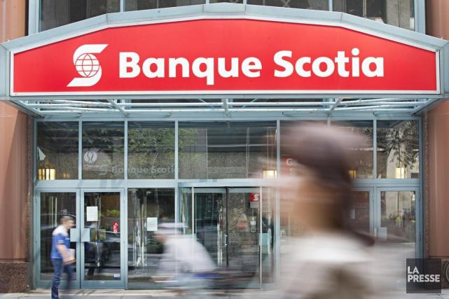 La Banque Scotia(T.BNS)a fait état vendredi d'un bénéfice en... (PHOTO ANNE GAUTHIER, ARCHIVES LA PRESSE)