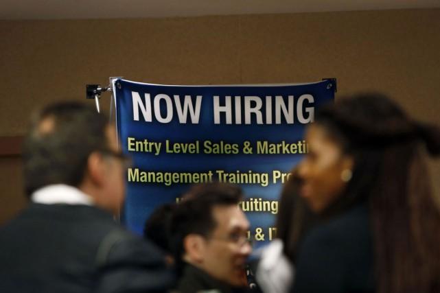 Le taux de chômage est resté à 5,8%,... (Photo Mike Segar, archives Reuters)