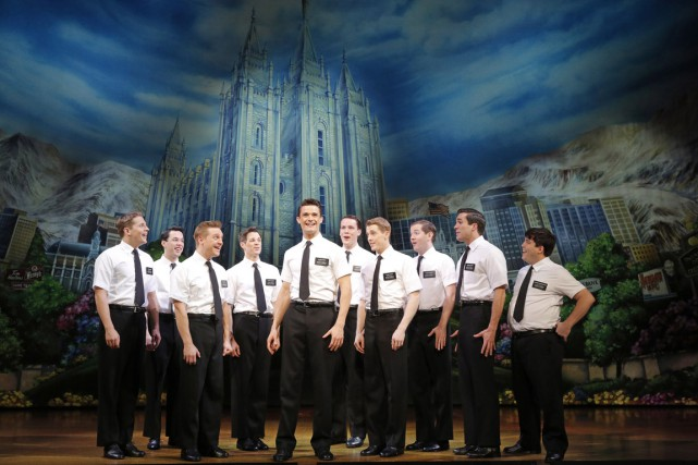 The Book of Mormon raconte l'histoire d'Elder Price, un... (PHOTO FOURNIE PAR LA PRODUCTION)