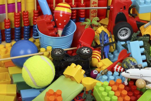 En 2013, 1000 jouets ont été vérifiés à... (Photo Digital/Thinkstock)
