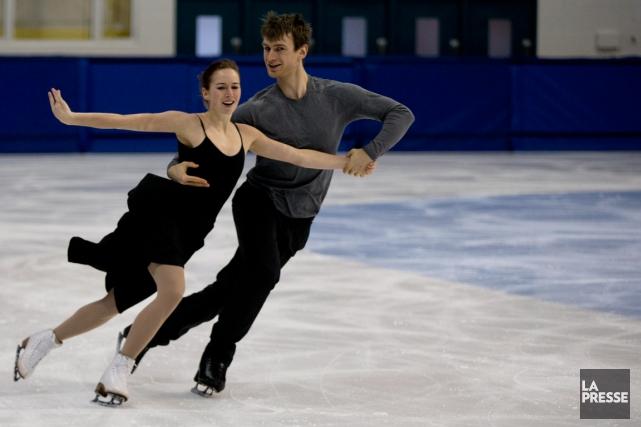 Élisabeth Paradis et François-Xavier Ouellette, qui travaillent avec... (Photo François Roy, La Presse)