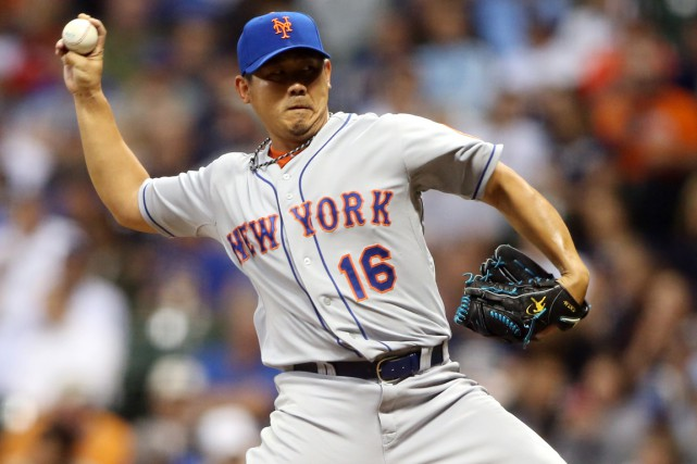 Daisuke Matsuzaka a compilé un dossier de 3-3... (Photo Jerry Lai, USA Today Sports)