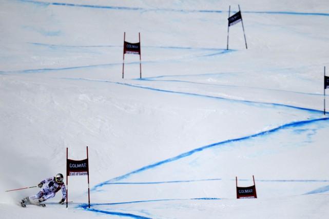 Le slalom ainsi que le slalom géant de la Coupe du monde de ski alpin masculin... (Photo Philippe Desmazes, archives AFP)