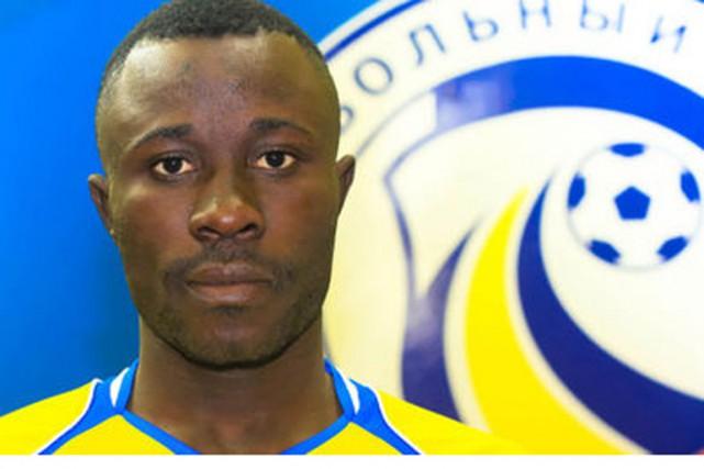 Guelor Kanga, milieu de terrain gabonais du FC... (PHOTO DR/LE MONDE)