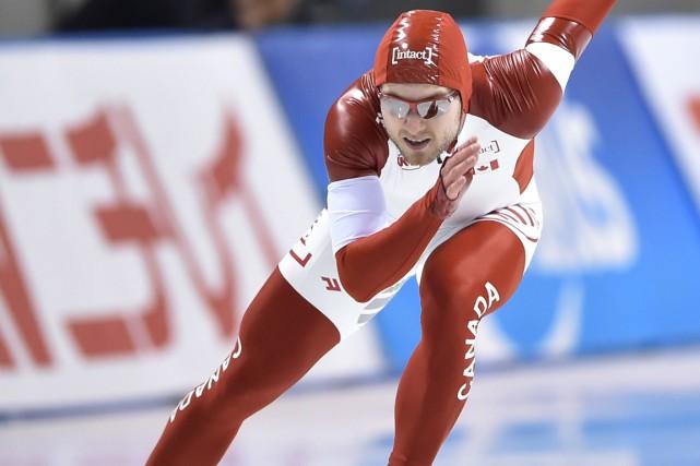 Laurent Dubreuila décroché une deuxième médaille en autant... (Photo Kazuhiro Nogi, archives AFP)