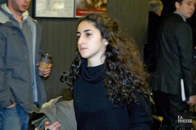 Yalda Machouf-Khadir, vendredi au palais de justice.... (PHOTO ALAIN ROBERGE, LA PRESSE)