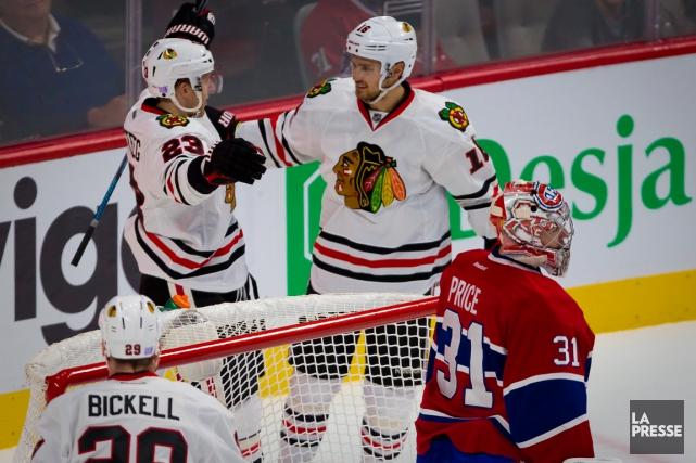 Le Canadien s'était incliné 5-0 face aux Blackhawks... (Photo André Pichette, archives La Presse)
