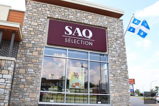La Société des alcools du Québec (SAQ) a affiché vendredi un résultat net de... (PHOTO PATRICK WOODBURY, ARCHIVES LE DROIT)
