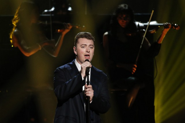 Le chanteur Sam Smith est le vrai meneur... (PHOTO MARIO ANZUONI, ARCHIVES REUTERS)