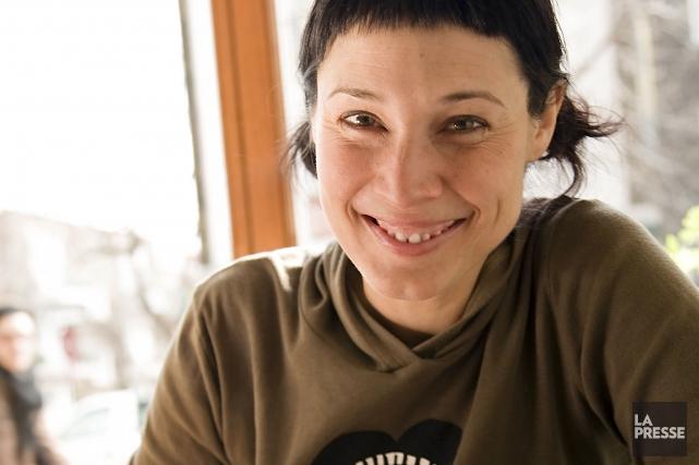 L'auteure jeunesse à succès Annie Groovie met fin... (Photo Isabelle Clément, Archives La Presse)