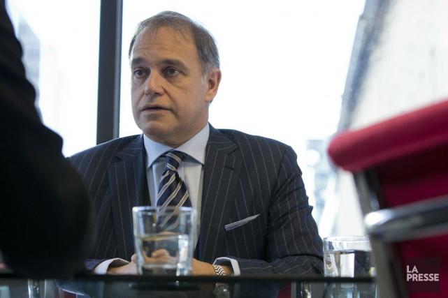 Yves Desjardins-Siciliano, PDG de Via Rail, souhaite construire... (PHOTO IVANOH DEMERS, LA PRESSE)