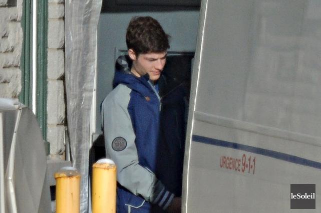 Jeff Rancourt, 18 ans, a été arrêté jeudi... (Le Soleil, Patrice Laroche)