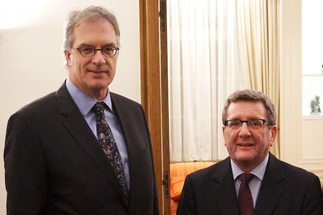 Originaire de Québec, le nouveau délégué général du... (Photo fournie par la délégation générale du Québec)