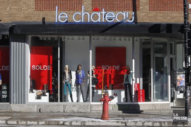 Le détaillant de mode établi à Montréal a... (PHOTO MARTIN CHAMBERLAND, ARCIHVES LA PRESSE)
